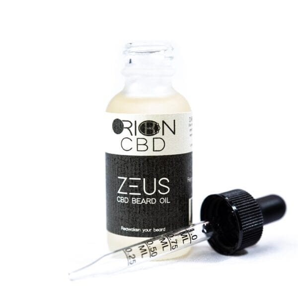Orion Zeus CBD Beard Oil - 2