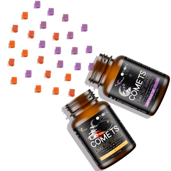 CBD Energy and Sleep Gummies